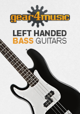 Gear4music canhoto guitarras baixo