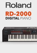 Roland RD-2000 - Piano de Palco Digital