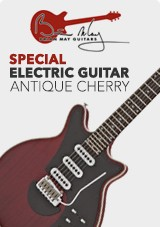 Brian May Guitars Electric Antique Cherry - Guitarra Eléctrica