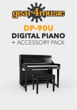 DP-90U Piano Digital vertical Gear4music + Pack acessório