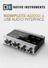 Native Instruments Komplete Audio 6 - Interface de Áudio USB