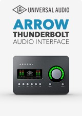 Universal Audio Interface Arrow Thunderbolt