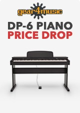 DP-6 Piano Digital da Gear4music