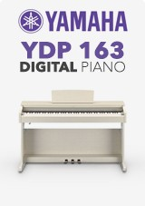 Piano Digital Yamaha YDP 163, Freixo