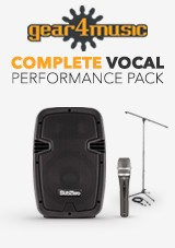 Conjunto Completo de Karaoke - Exclusivo Gear4music!